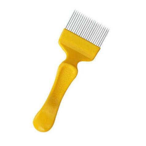 Вилка для распечатки сотов, желтая
