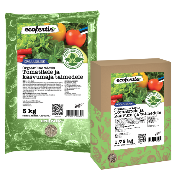 Органическое удобрение для томатов / для теплицы / 1 кг