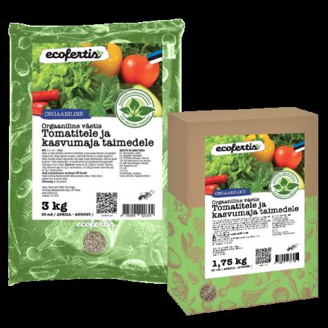 Tomativäetis orgaaniline/kasvuhoonesse/ 3kg
