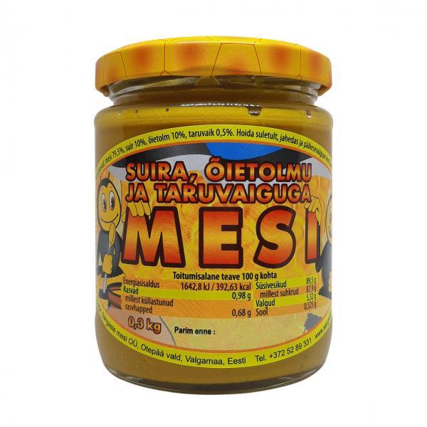 Мед с пыльцой и прополисом 0,3 кг