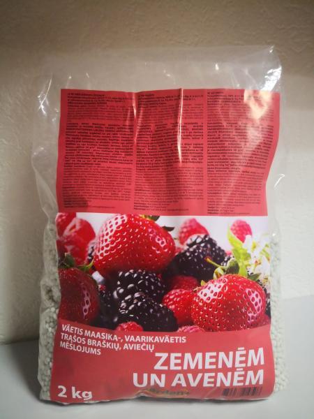 Удобрение для клубники, малины и ягод 2кг