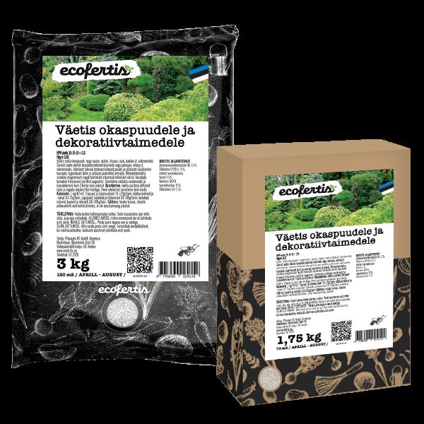 Удобрение для хвойных и декоративных растений 3кг