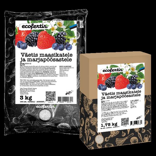 Удобрение для клубники и ягод 1кг