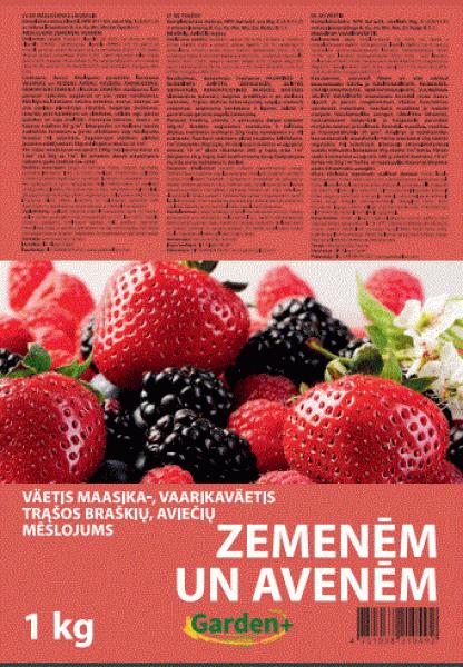 Удобрение для клубники, малины и ягод 1кг