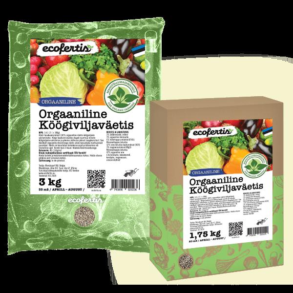 Удобрение овощное органическое 1кг