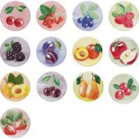 Purgikaas 66 mm puuviljad LOVE