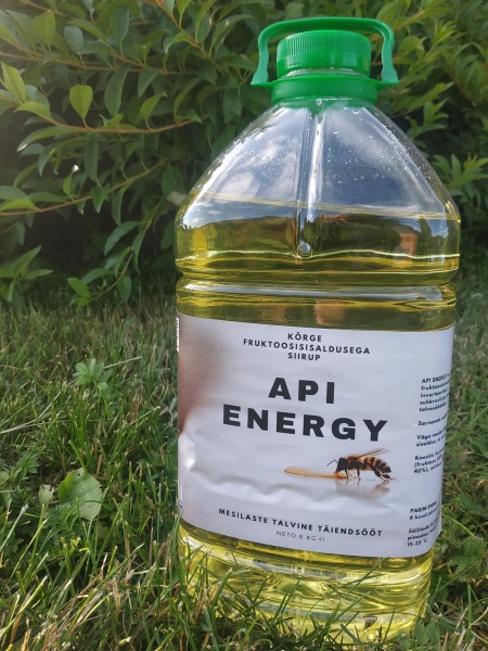 Mesilaste täiendsööt Api Energy 6kg