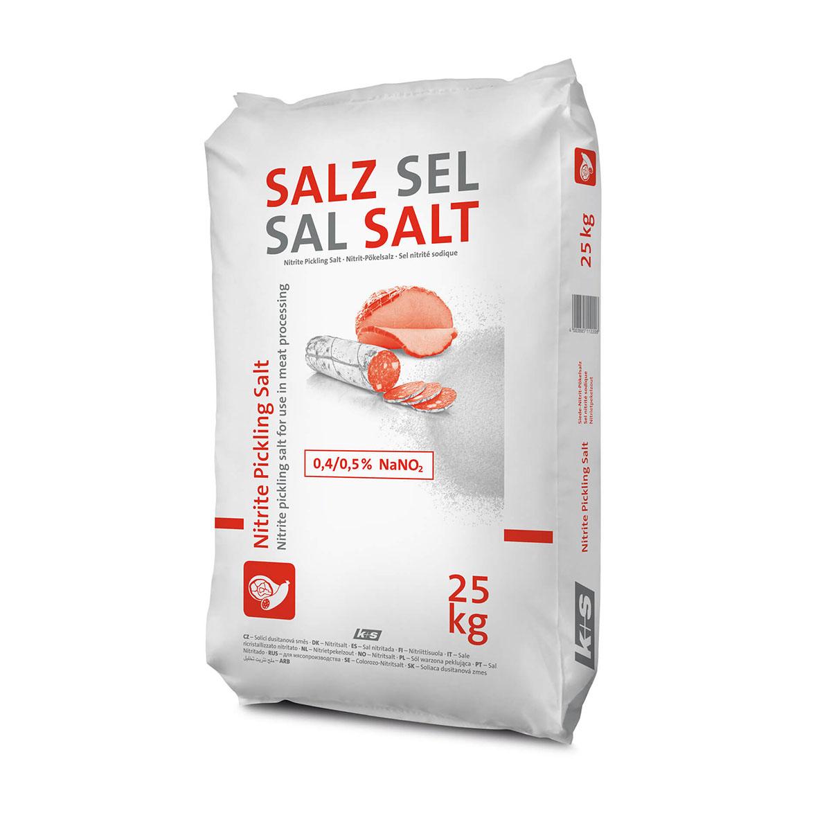 Нитритная соль 0,6% 25 кг